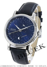 EPOS 3391BL Night Sky Automatic SS Leather Blue Dial Men's Watch Japan
