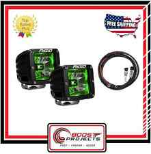 Rigid Industries Radiance Pod | Green Light Kit + Harness 20203 / 40300