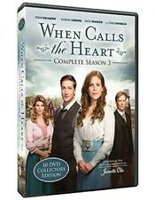 WHEN CALLS THE HEART - COMPLETE SEASON 3 w/ Bonus Movies - Hallmark Channel TV