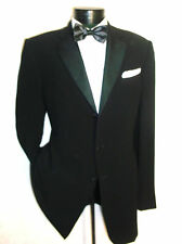 Amazing Giorgio Armani Black Label Tuxedo Jacket, 3Button 44L Made in Italy