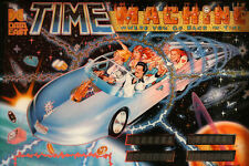 Data East TIME MACHINE Pinball Cabinet Light Mod BLUE