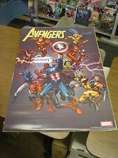 Avengers poster 24 x 36 inches art by Tom Grummett 2005 Vintage