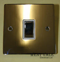 Heritage Brass T02.805.PCW - 20a Double Pole Flat Plate Switch Un-used in Box