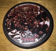 ECHL KELLY CUP 2005 CHAMPIONS CHAMPS TRENTON TITANS Team Photo Hockey PUCK
