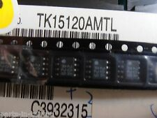 2PCS  TK15120AMTL    Two-Channel Muting I C  TK15120   so8   TOKO
