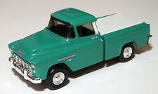 CUSTOM BUILT 1955 CHEVY CAMEO  PICKUP    O SCALE  On30  On3  1/43   DIE CAST