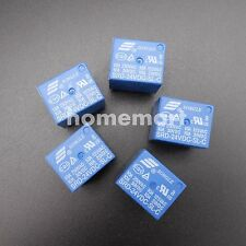 5 pcs SRD-24VDC-SL-C 24V DC SONGLE Power Relay PCB Type SPDT High Quality 5 Pins
