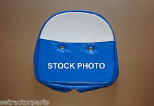 Ford Massey Universal Blue White Blue and White Tractor Seat Cushion Cover 21""