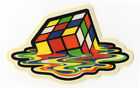 MELTED RUBIKS CUBE Sticker Decal for Skateboard Scooter Phone Guitar Laptop Case