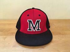 New OC Sports PROFLEX ECO3 Baseball Hat Cap Q3 Technology - Sz M/L - Red & Black