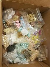 Big 5 pound LOT Beads Seed glass Bugle Great Variety many colors Shapes Sizes