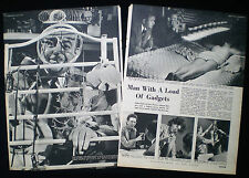 DON DAVIS GADGET-OF-THE-MONTH CLUB GADGET USA AMERICA 2pp PHOTO ARTICLE 1951