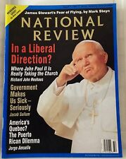 National Review Aug 11 1997 Politics Liberal Pope John Paul II Puerto Rico