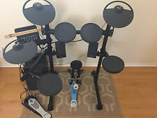Yamaha DTX430K Electric Drum Set with MS40DR 2.1 monitor speaker