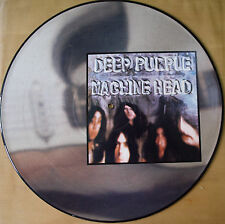 SUPER! DEEP PURPLE MACHINE HEAD VINYL LP PICTURE PIC DISC