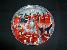 Danbury Mint Liverpool FC Champions of Europe 2005 Plate