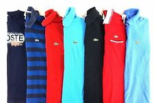 Lacoste Men's Lot of 7 Casual Polo Shirts Size Small, EUR 3 [BC15445]