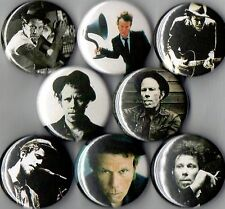 Tom Waits 8 pins buttons badges smoking photo new