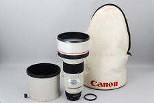 EXCELLENT Canon FD 300mm F/2.8 L MF Lens w/Hood Case From Japan