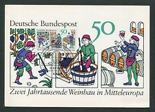 BUND MK 1980 WEINBAU WINE GRAPE WEIN VINE MAXIMUMKARTE MAXIMUM CARD MC CM d6293