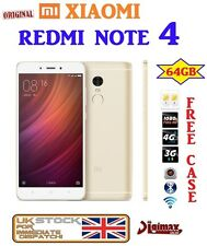 "64GB GOLD NEW 5.5"" XIAOMI REDMI NOTE 4 PRIME HELIO X20 DECACORE DUALSIM ANDROID"