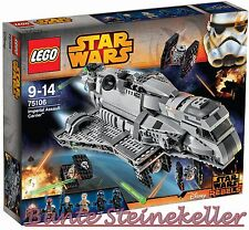 LEGO® Star Wars™: 75106 Imperial Assault Carrier™ & 0.-€ Versand & OVP & NEU !