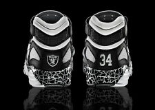Nike Air Trainer Max 91 QS NFL Oakland Raiders Bo Jackson Size 9. stone grey