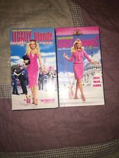 Legally Blonde 1 & 2 VHS