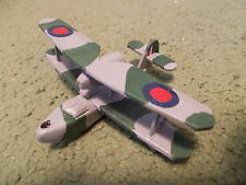 Built 1/144: British SUPERMARINE WALRUS Floatplane Aircraft