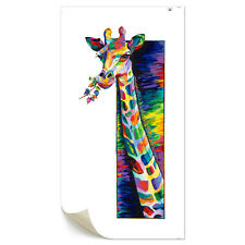 Canvas Prints Home Decor Wall Art Painting Picture-3D Colorful Giraffe Unframed