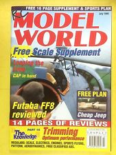 RC Model World - Radio Controlled Aircraft, July 1999 - Free Plan Cheap Jeep