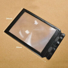 Economic A4 Giant Assisted Reading Magnifying Glass Sheet 3X Magnifier ATAU