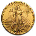 1907 $20 St. Gaudens Gold Double Eagle Coin - Almost Uncirculated - SKU #4364