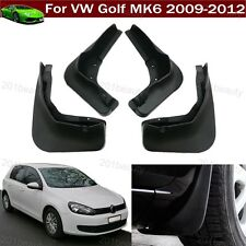 4pcs Car Mud Flap Splash Guard Fender Mudguard Mudflap For VW Golf MK6 2009-2012