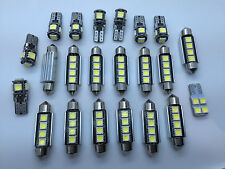 Mercedes E W211 Sedan + AMG FULL LED Interior Lights KIT 22 pcs Bulbs White GR