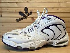 2000 Nike Air Max Flight Vroomlicious TB sz 13.5 White Purple 430812-151
