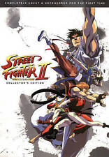 Street Fighter II the Animated Movie, New DVDs