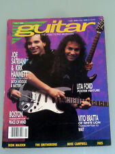 Guitar July 1988 Dave Murray, Inxs, The Smithereens, Vito Bratta, Joe Satriani