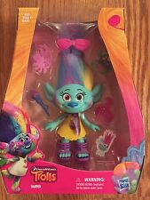 "DREAMWORKS TROLLS HARPER 9"" ACTION FIGURE DOLL WITH ACCESSORIES NIB"
