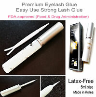 Best Strong WHITE Eyelash Glue | Adhesive For False Fake Lashes | LATEX FREE