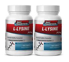 Lysine Powder - L-Lysine 500mg - Fat Burner Weight Loss Pills 2B