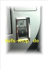 D Ford Kuga Chrom  Rahmen für Schalter Sitzheizung Edelstahl poliert  2 Teile