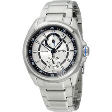 Citizen Analog Silver Dial Stainless Steel Men's Watch BU300055A