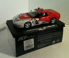 qq 96006 A-583L FLY CORVETTE C5 SAFETY CAR 24h LE MANS 1999 con luz - with light