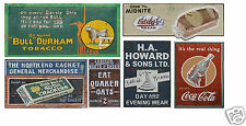 N Scale Ghost Sign Decals #41- Weather Your Buildings & Structures!
