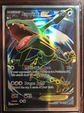 Pokemon Roaring Skies Rayquaza EX Full Art Ultra 104/108 No scratches