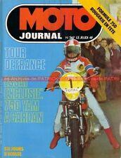 MOTO JOURNAL  267 YAMAHA XS 750 DOHC SUNBEAM S8 Hubert RIGAL Tour de France 1976