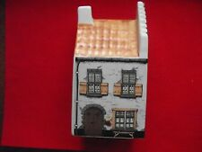 Vintage Hand Painted Old Dutch House Ornament