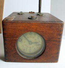 Antique Benzing Original Brevete Pigeon Racing Timer Clock German