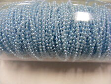Pearls on String Blue 3mm - 5 metres